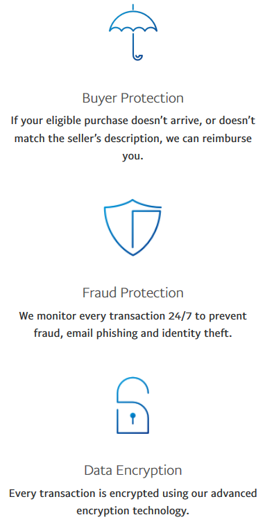 PayPal security measures