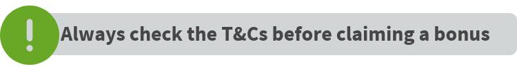 Bonuses T&Cs