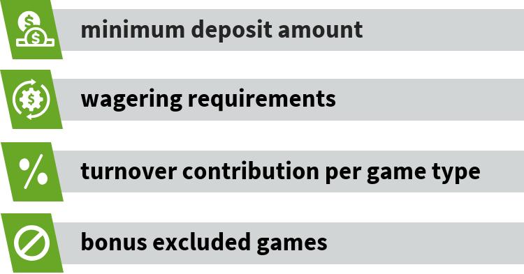 Live dealer bonus terms