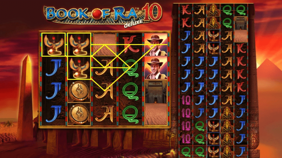Greentube Book of Ra Deluxe 10 Slot