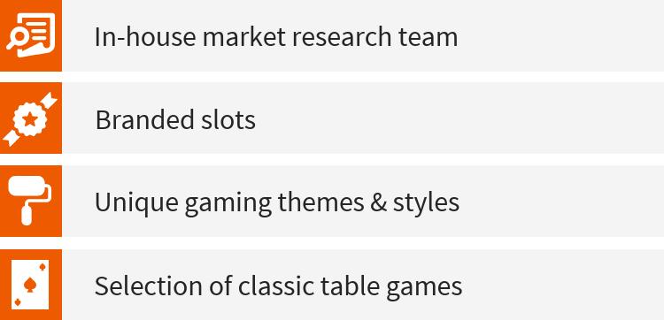 About Leander Games' Portfolio