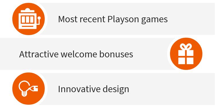 New Playtech casinos
