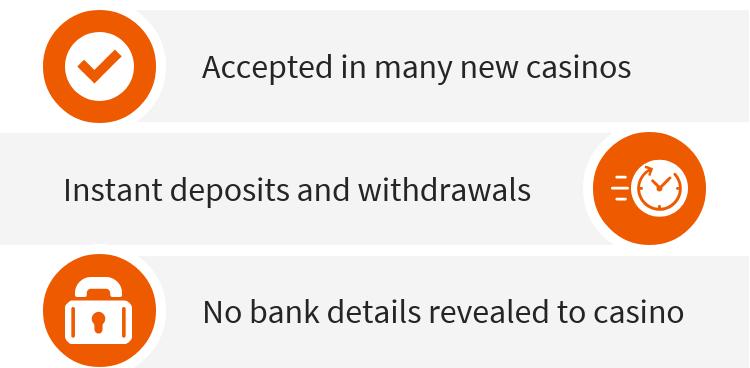 Using PayPal at new casinos