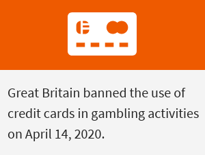 UKGC casinos - note on credit cards