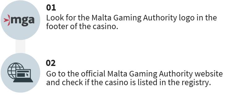 Finding MGA licensed casinos