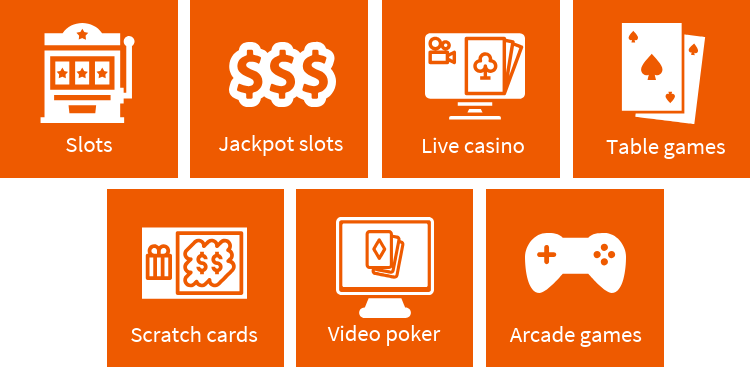 Game types at new casinos