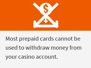 Note on withdrawals with prepaid cards