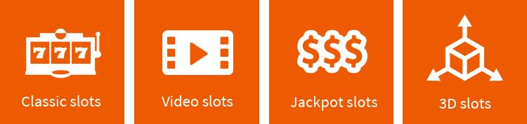 Slot types