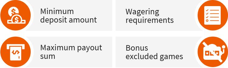 Important bonus terms
