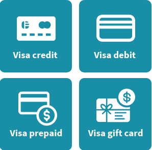 Types of visa cards