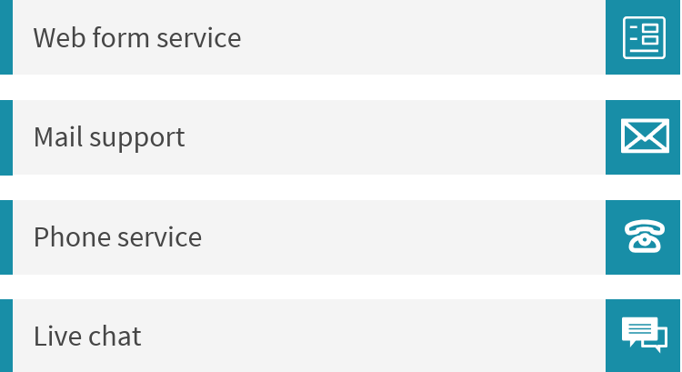 customer service types