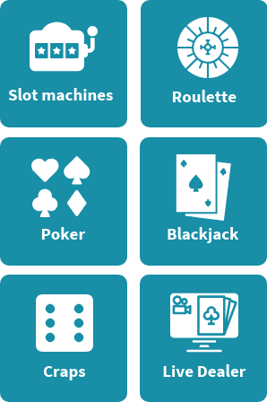 Top mobile casino game types